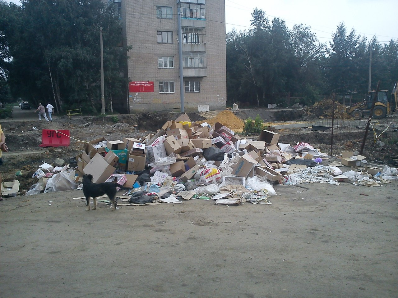 «Меня беспокоит, что у нас не создана система раздельного сбора мусора в современном понимании эт