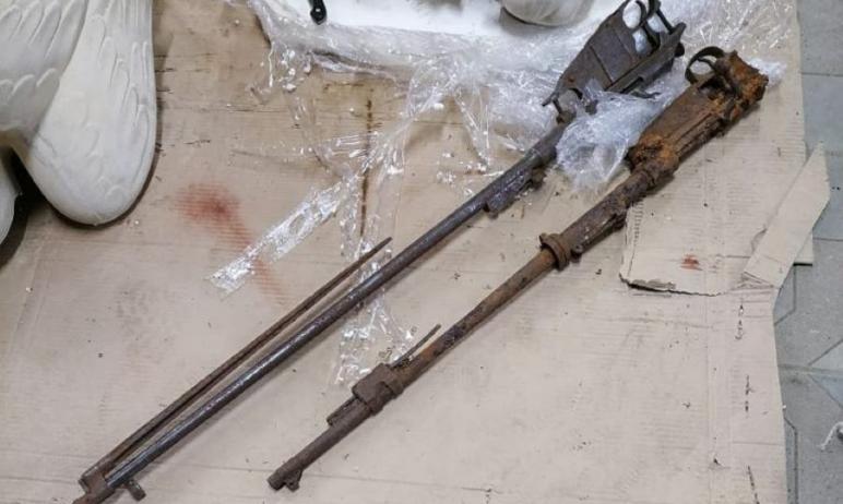 В поселке Западный (Челябинская область) группа разминирования ОМОН Росгвардии уничтожила найденн