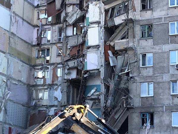 В Челябинской области введен режим ЧС в связи с трагедией в Магнитогорске –ранним утром 31 декабр