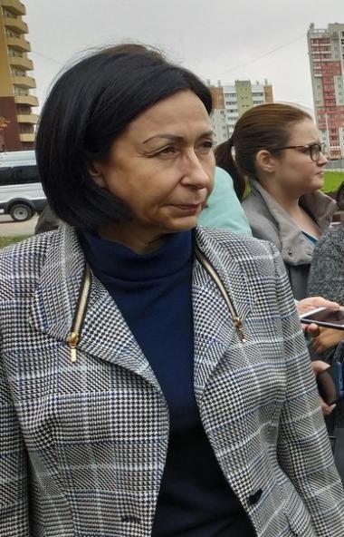 Временно исполняющая полномочия главы Челябинска Наталья Котова сегодня, десятог
