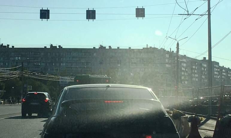 Градус негодования автомобилистов Челябинска по поводу новой разметки на Комсомольском проспекте