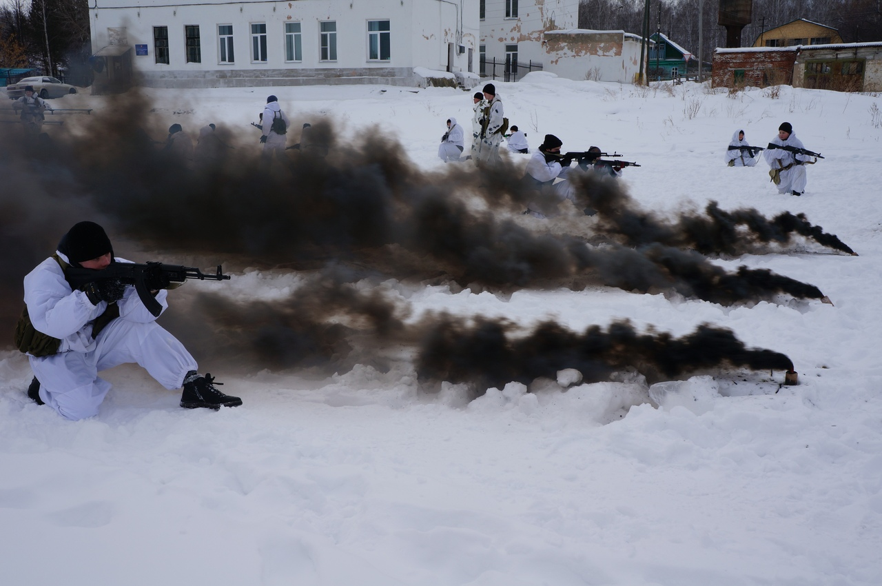 В Челябинской области сегодня, 21 февраля, завершились зимние международные сборы молодежных воен