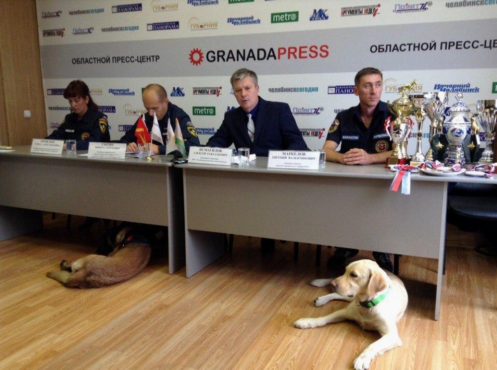 В этом году кинологическому подразделению МКУ «Челябинская городская служба спасения» исполняется