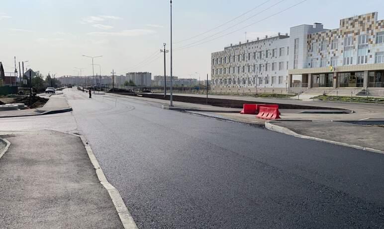 В Челябинске на финишную прямую вышло строительство дороги на улице Конструктора Духова.