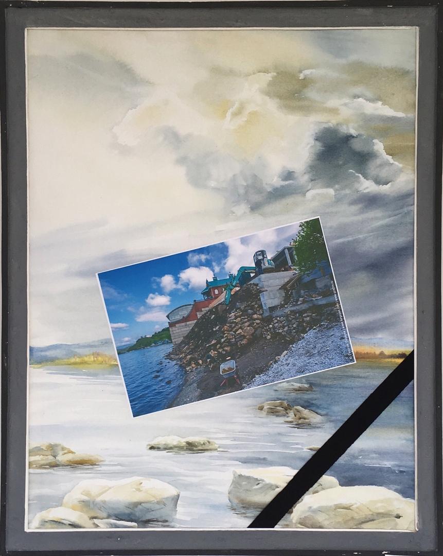 Известный художник из Миасса (Челябинская область) Василий Матвеев оригинальным способом указал н