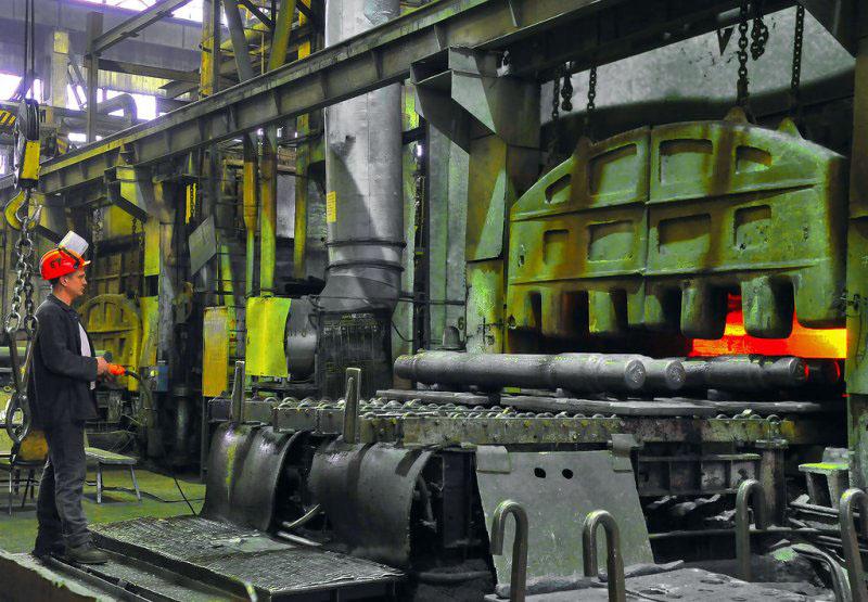 Металлургический завод на берегу озера Чебаркуль построен во время Великой Отечественной войны в