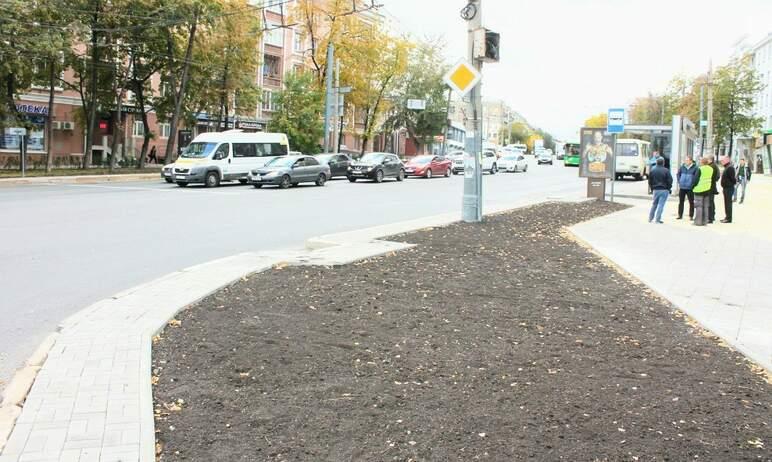 Первый этап реконструкции пешеходной зоны на улице Свободы в Челябинске подходит к завершению.