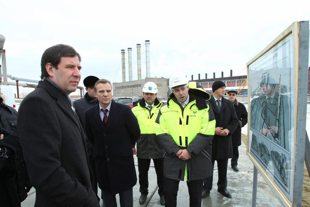Сегодня, 20 ноября, губернатор Михаил Юревич посетил Челябинскую ГРЭС, входящую в структуру ОАО «