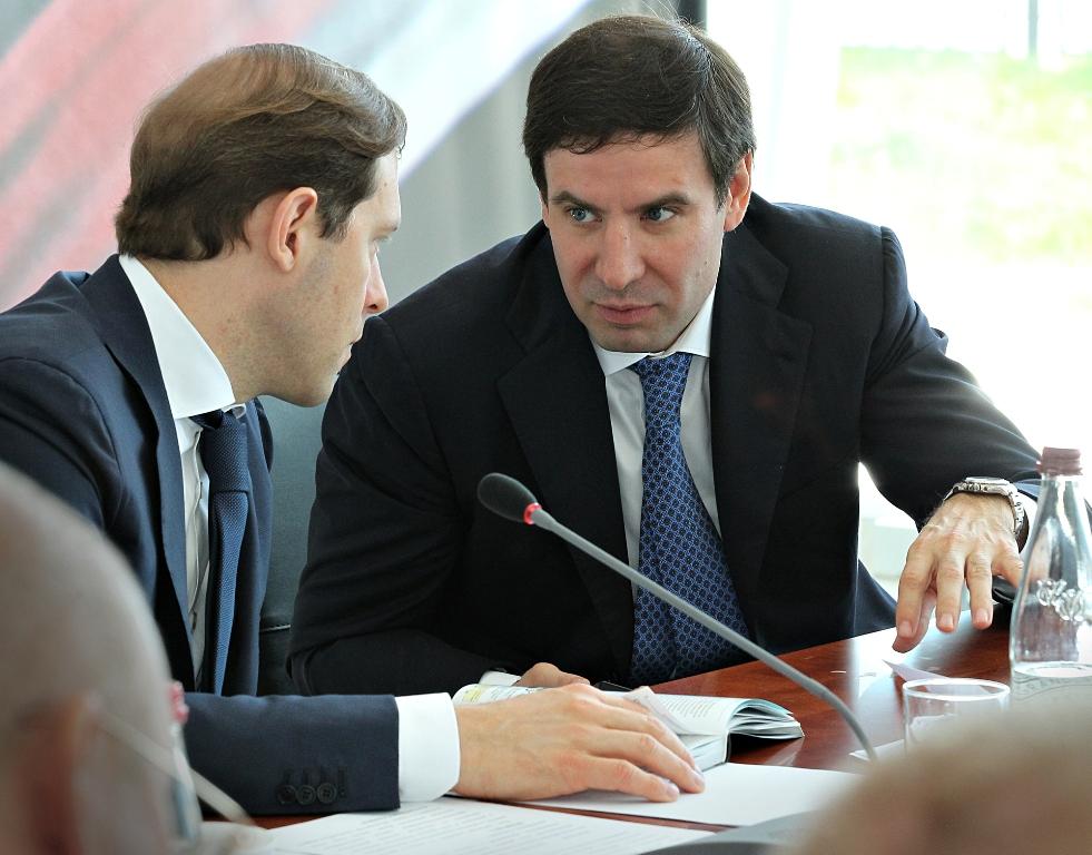 На встрече присутствовали министр промышленности и природных ресурсов Челябинской области Владими