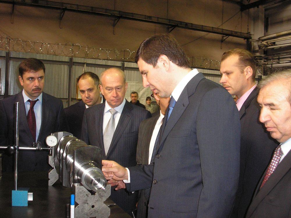 Как сообщил агентству «Урал-пресс-информ» в ходе визита на ЧТЗ губернатор Челябинской области Мих