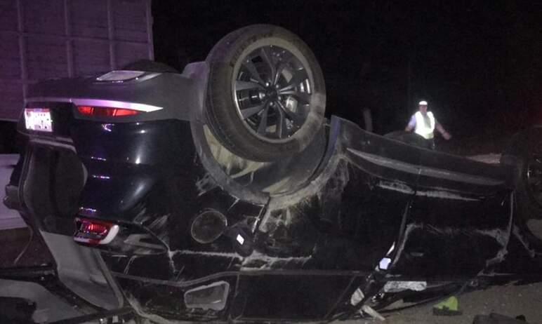 В Челябинской области в результате столкновения КамАЗа и легкового автомобиля «Chery» на трассе Т