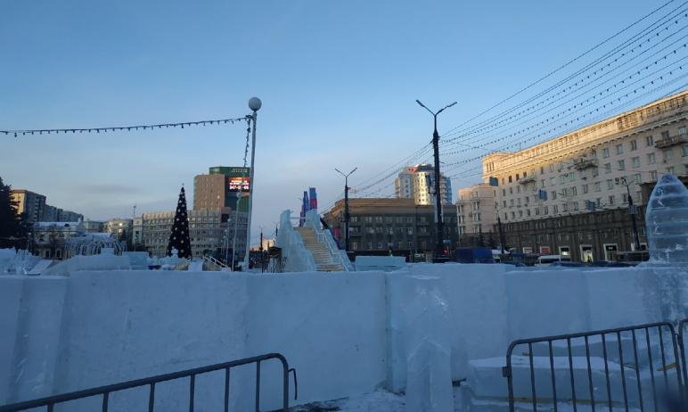 Жители Челябинска проголосовали за тему ледового городка, который будут устанавливать к 2022 году
