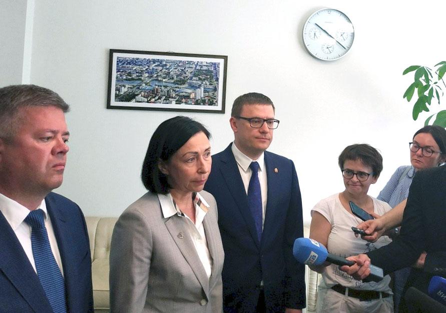 Впервые в истории Челябинска временно исполнять обязанности главы будет женщина. Сегодня,