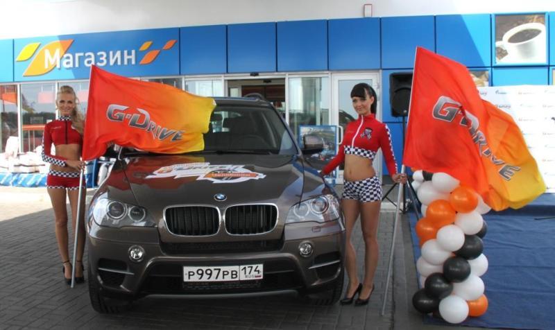 В автопробеге принимают участие команды из российских городов присутствия сети АЗС «Газпромнефть