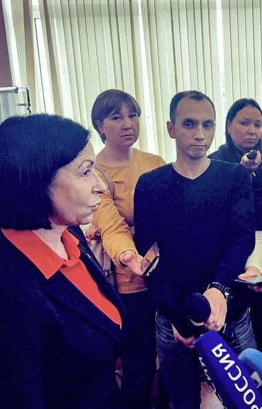 Победительница конкурса по выбору главы Челябинска Наталья Котова, пока находящаяся в статусе вре