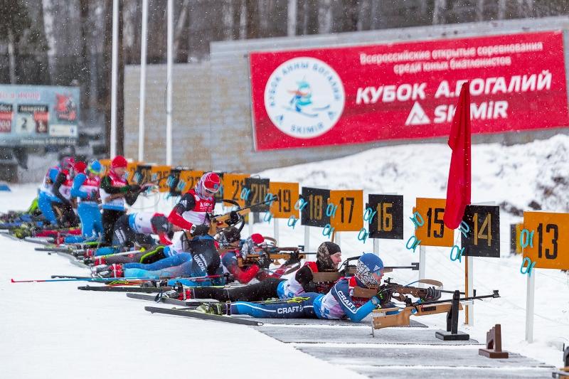 С 17 по 20 января, в Центре биатлона курорта «Абзаково» пройдут Всероссийские открытые соревнован
