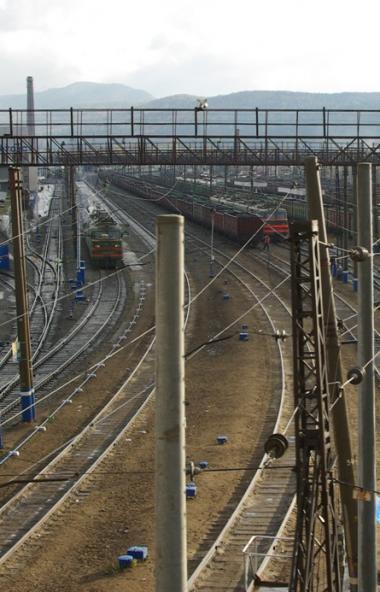 В Забайкальском крае с рельсов сошел электровоз пассажирского поезда № 12 сообщением Челябинск -