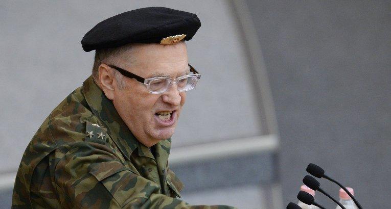 Как стало известно агентству «Урал-пресс-информ» из официальных сообщений, основатель ЛДПР вырази