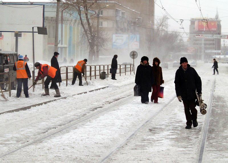 В связи со значительным снижением температуры воздуха во вторник, 25 декабря, отменены занятия в