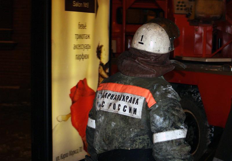 Площадь возгорания составила 80 квадратных метров. Пожар был немедленно локализован и в 11 часов