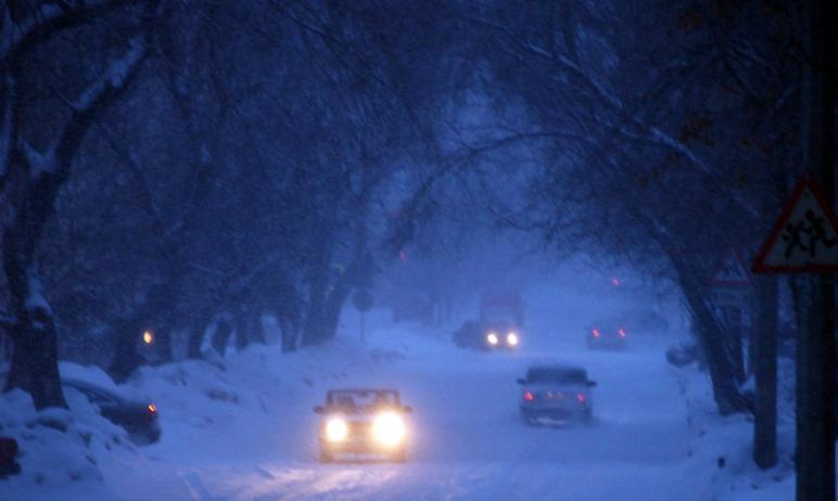 В воскресенье вечером, 10 января, и предстоящей ночью в Челябинской областипродолжатся небл