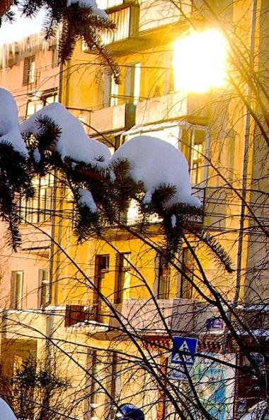 Второй день Святок – малоснежный, третий – теплый и с метелями