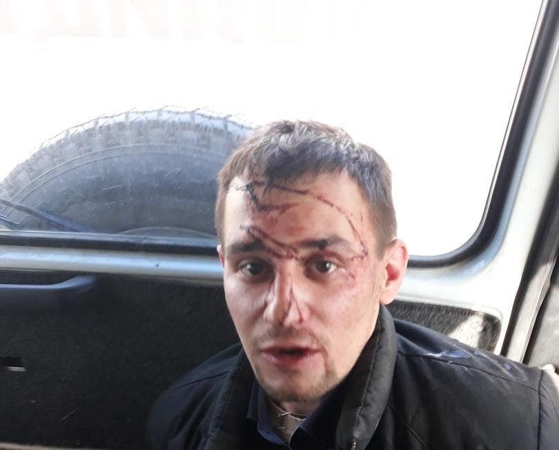 Пьяный озерчанин хотел взорвать магазин. Дебошира обезвредили стражи порядка. Инцидент про