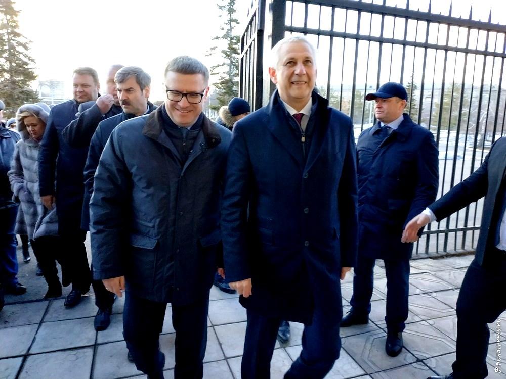 Исполняющий обязанности первого заместителя губернатора Челябинской области Евгений Редин