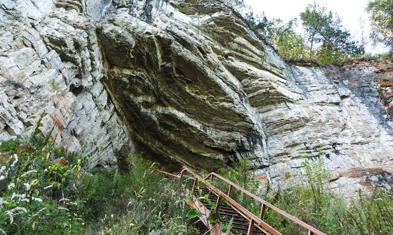 В Челябинской области на территории Игнатьевской пещеры, расположенной на границе Серпиевского го