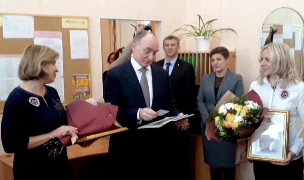 Губернатор Челябинской области Борис Дубровский в ходе официального визита в Маг